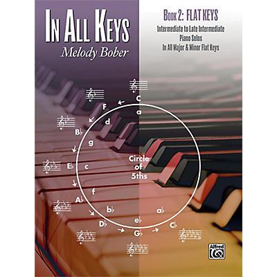 Alfred In All Keys, Book 2: Flat Keys Intermediate / Late Intermediate