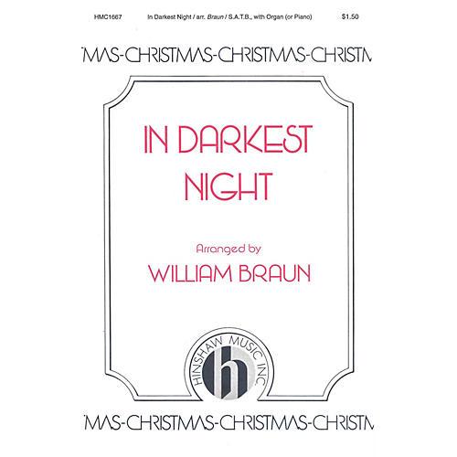 Hinshaw Music In Darkest Night SATB arranged by William Braun