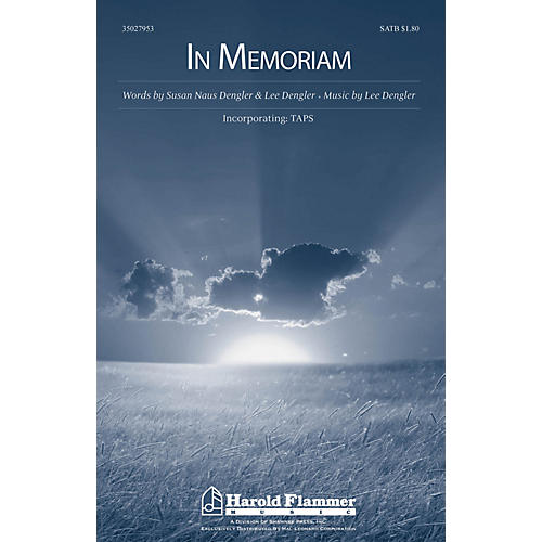 Shawnee Press In Memoriam (Incorporating Taps) SATB composed by Lee Dengler