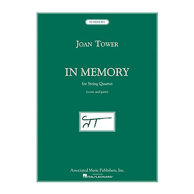 Associated In Memory (for String Quartet) String Series Composed by Joan Tower
