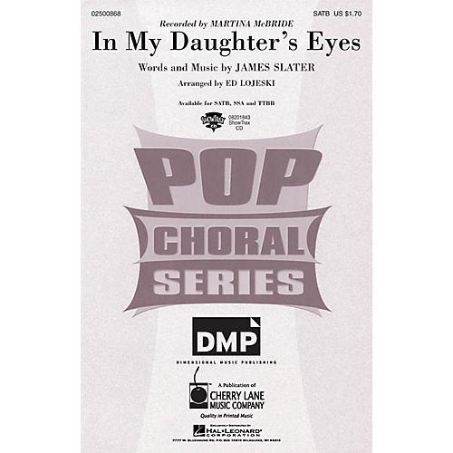 Cherry Lane In My Daughter's Eyes SSA by Martina McBride Arranged by Ed Lojeski