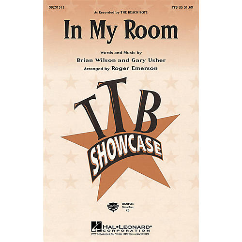 Hal Leonard In My Room TTBB by Beach Boys arranged by Roger Emerson