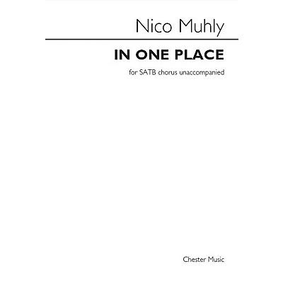 St. Rose Music Publishing Co. In One Place SATB a cappella Composed by Nico Muhly