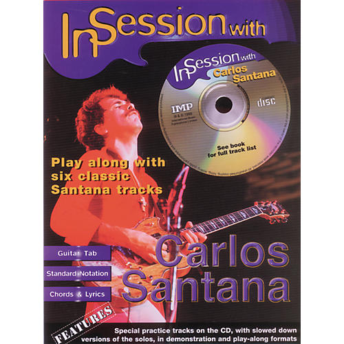 Alfred In Session with Carlos Santana Book with CD
