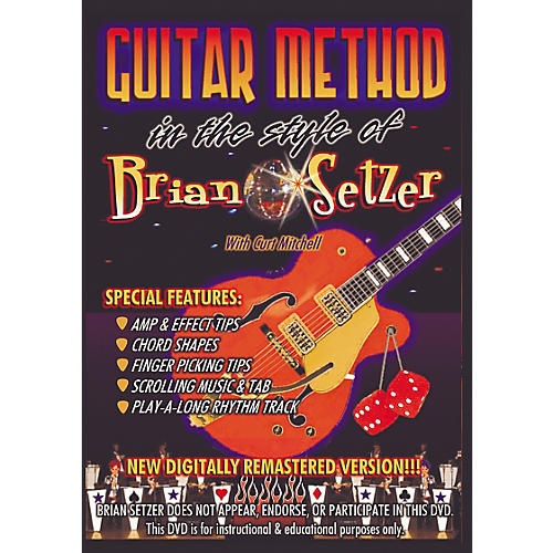 MVP In The Style of Brian Setzer Guitar (DVD)