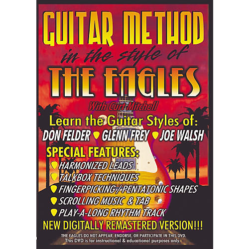 MVP In The Style of The Eagles Guitar (DVD)
