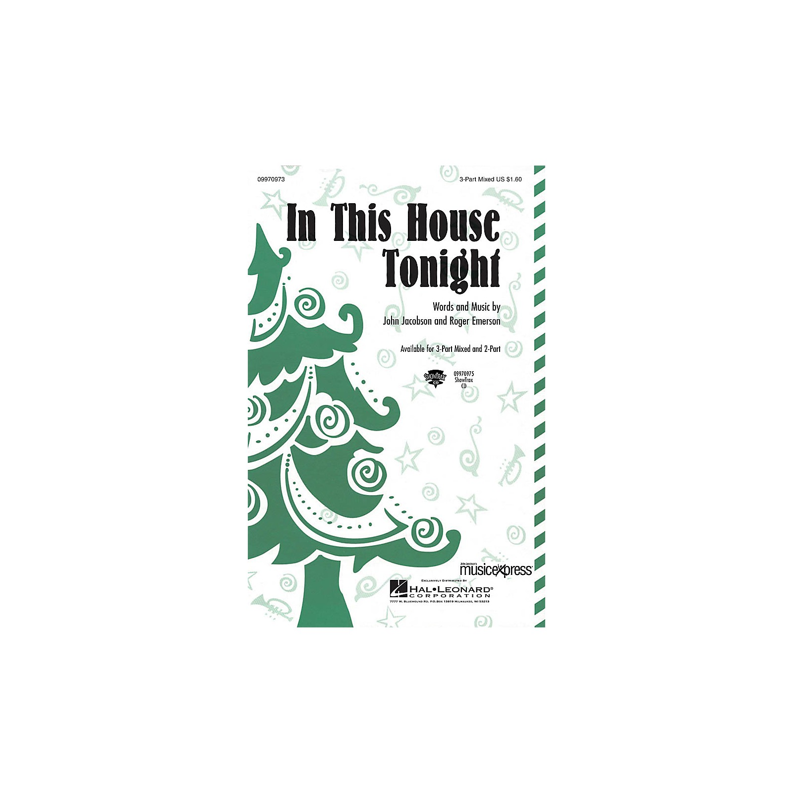 Hal Leonard In This House Tonight 3-Part Mixed Composed by John Jacobson/Roger Emerson
