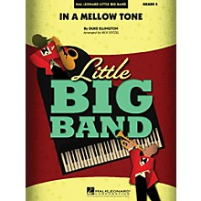 Hal Leonard In a Mellow Tone Jazz Band Level 4 by Duke Ellington Arranged by Rick Stitzel