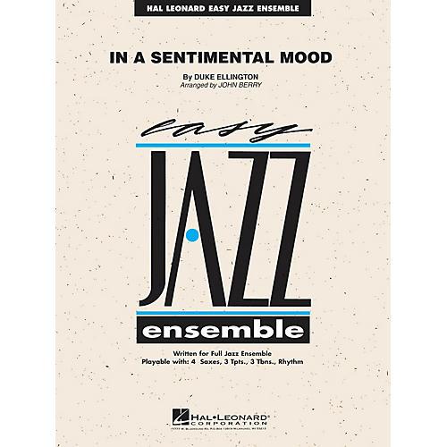 Hal Leonard In a Sentimental Mood Jazz Band Level 2 Arranged by John Berry