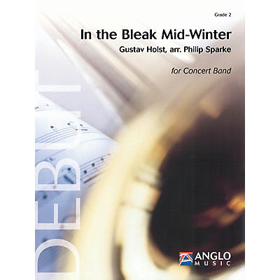 Anglo Music Press In the Bleak Midwinter (Grade 2 - Score Only) Concert Band Level 2 Arranged by Philip Sparke