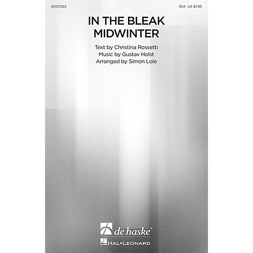 De Haske Music In the Bleak Midwinter SSA arranged by Simon Lole
