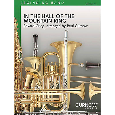 Curnow Music In the Hall of the Mountain King (Grade 1.5 - Score Only) Concert Band Level 1.5 Arranged by James Curnow
