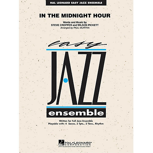 Hal Leonard In the Midnight Hour Jazz Band Level 2 Arranged by Paul Murtha