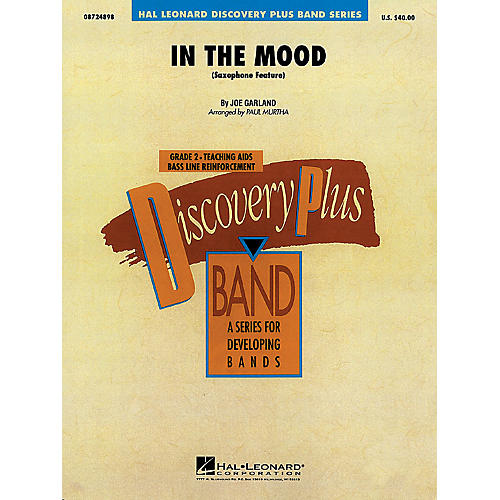 Hal Leonard In the Mood - Discovery Plus Concert Band Series Level 2 arranged by Paul Murtha