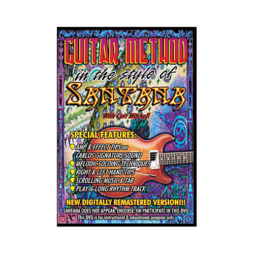 MVP In the Style of Santana (DVD)