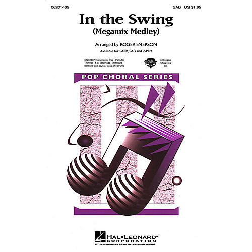 Hal Leonard In the Swing (Medley) SAB arranged by Roger Emerson