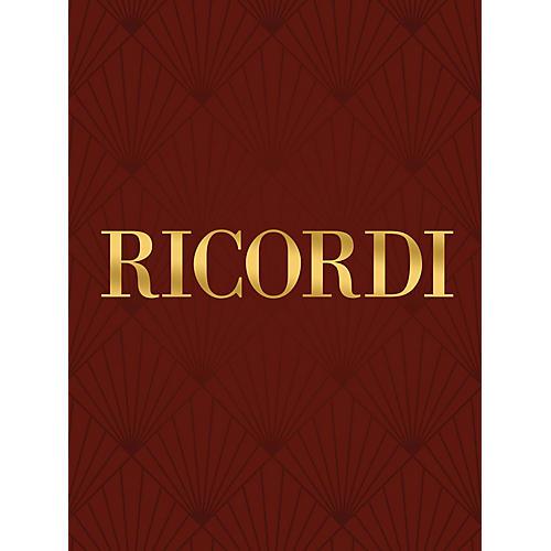 Ricordi Indarno cerca la tortorella RV659 Study Score Composed by Antonio Vivaldi Edited by Francesco Degrada