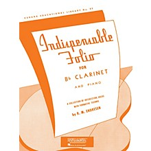 Rubank Publications Indispensable Folio - Bb Clarinet and Piano Rubank Solo Collection Series