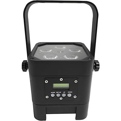 Eliminator Lighting Indy Hex Par Wireless Outdoor RGBWA+UV LED Wash Light