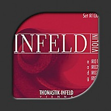 Infeld Red Series 4/4 Size Violin Strings 4/4 Size Gold-Plated Steel E