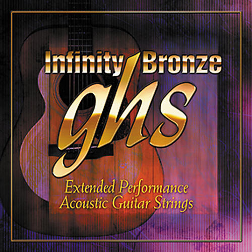 GHS Infinity Bronze Acoustic Extra Light Guitar Strings