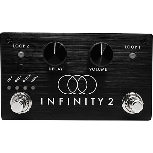Pigtronix Infinity Looper 2 Stereo Looping Effects Pedal Condition 1 - Mint Black
