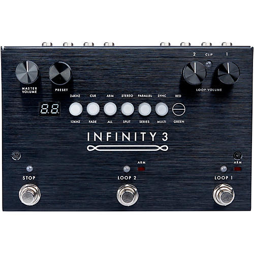 Pigtronix Infinity Looper 3 Effects Pedal Black