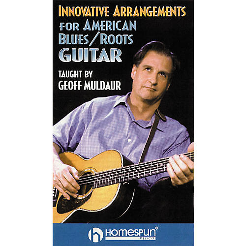 Homespun Innovative Arrangements for American Blues/Roots Guitar (VHS)