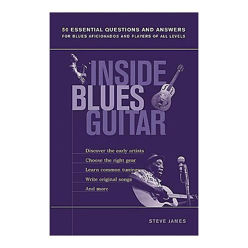 String Letter Publishing Inside Blues Guitar Book