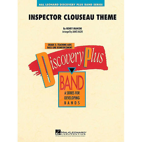 Hal Leonard Inspector Clouseau Theme Concert Band Level 2