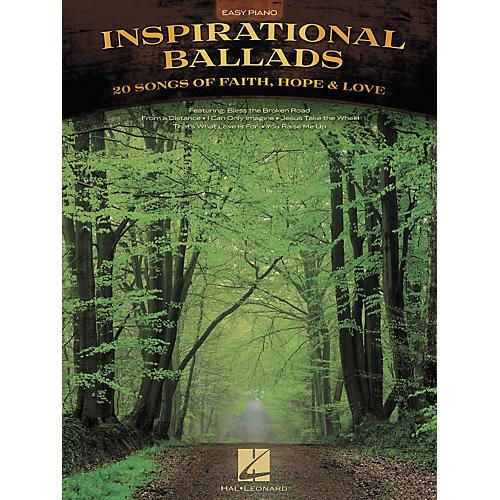 Hal Leonard Inspirational Ballads for Easy Piano