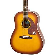 Inspired by 1964 Texan Acoustic-Electric Guitar Vintage Cherryburst