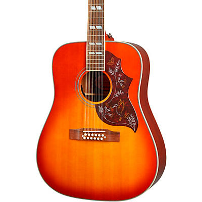 Epiphone Inspired by Gibson Hummingbird 12-String Acoustic-Electric Guitar