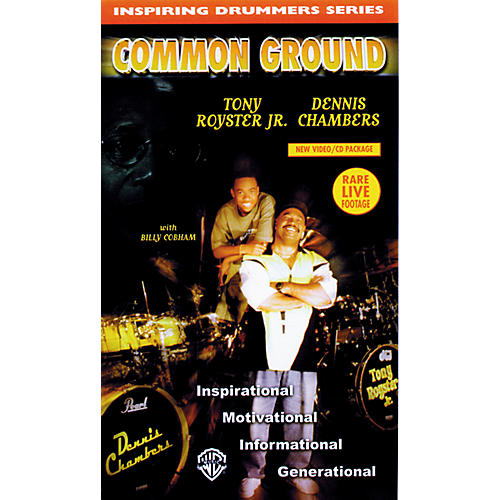 Warner Bros Inspiring Drummers Series - Common Ground Video/CD