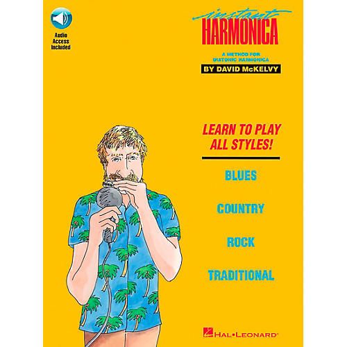Hal Leonard Instant Harmonica Book/Online Audio