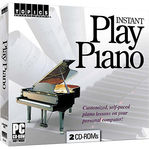 Topics Entertainment Instant Play Piano (CD-ROM)