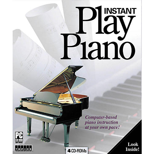 Music Sales Instant Play Piano Music Sales America Series CD-ROM
