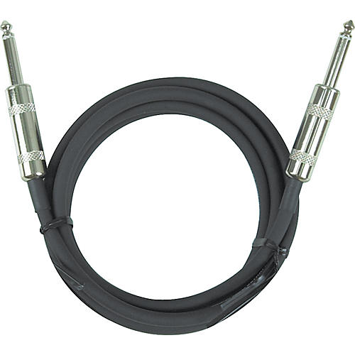 Ernie Ball Instrument Cable Straight - Straight Black