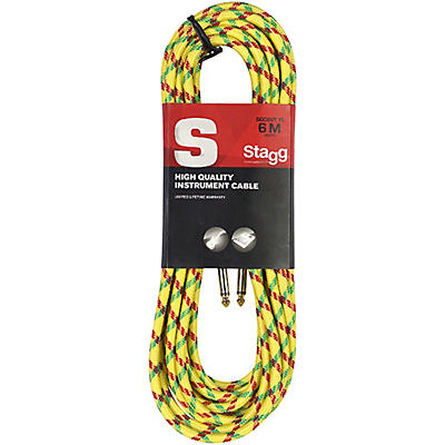 Stagg Instrument Cable Vintage Tweed Style S-Series