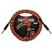 "Pig Hog Instrument Cable Western Plaid 1/4"" to 1/4"" (10 ft.)"