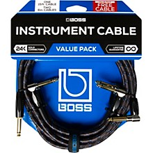 Boss Instrument/Patch Cable Bundle