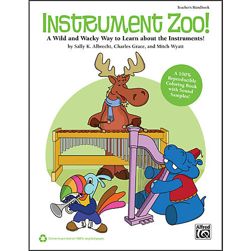 Alfred Instrument Zoo! Book & CD