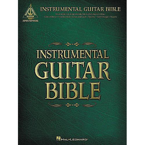 Hal Leonard Instrumental Guitar Bible Book