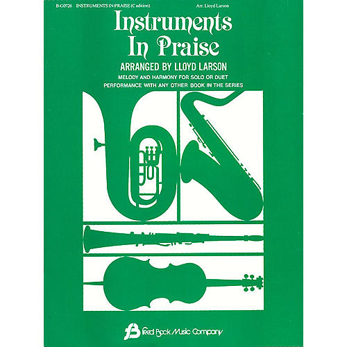 Fred Bock Music Instruments In Praise - C Instrumental Solos/Duets