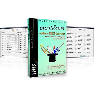 Innovative Music Systems IntelliScore Ensemble Audio to MIDI Converter Software Download