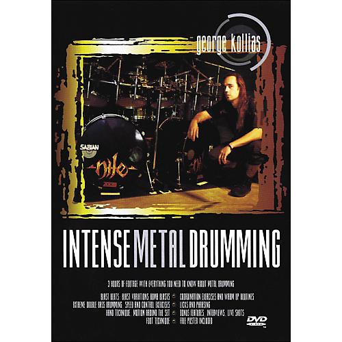 Music Sales Intense Metal Drumming - George Kollias Instructional Drum DVD
