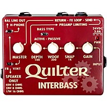 Open BoxQuilter Labs InterBass 45W Bass Amp Pedal