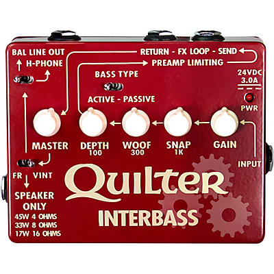 Quilter Labs InterBass 45W Bass Amp Pedal