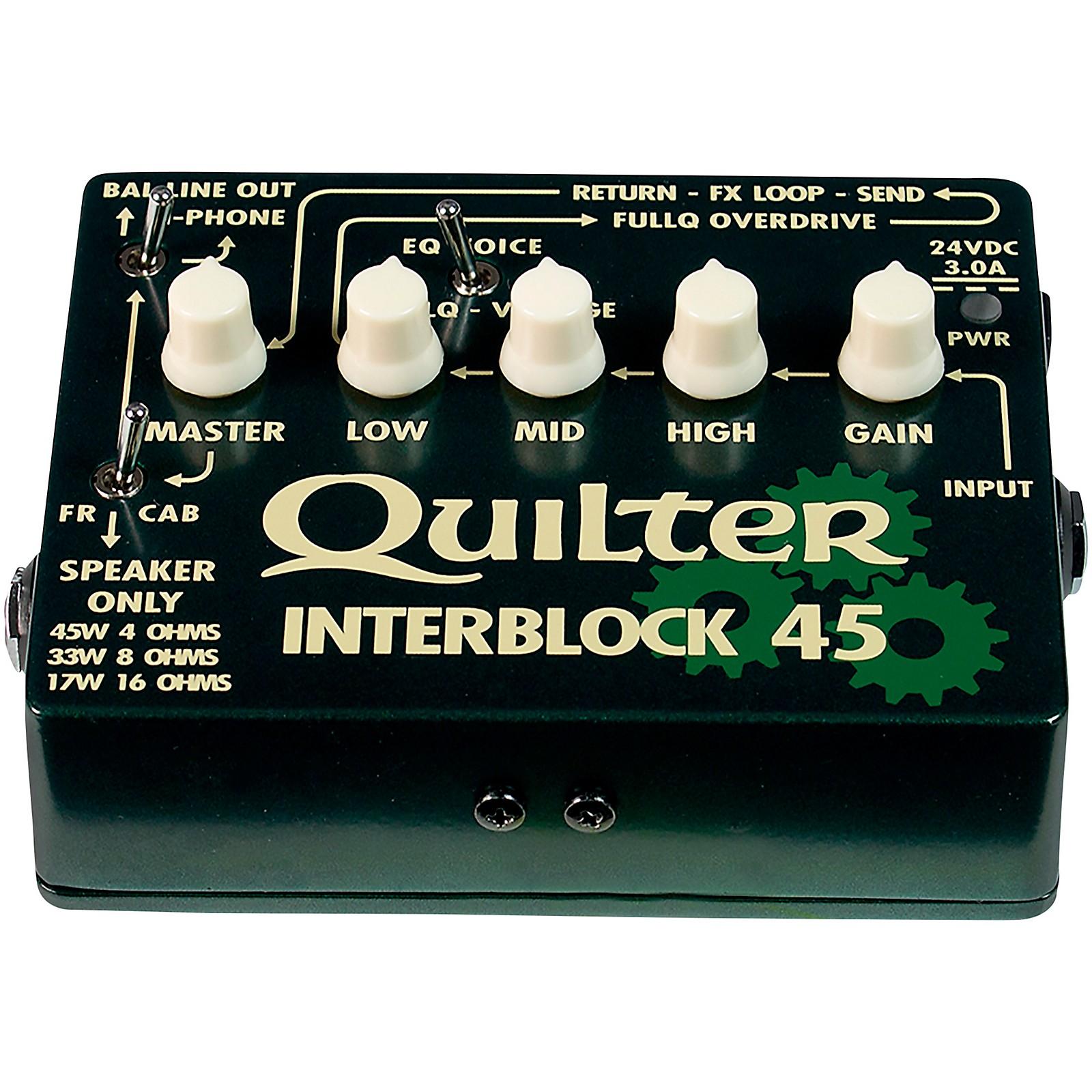 Quilter Labs InterBlock 45 45W Guitar Amp Head