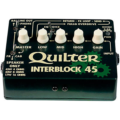 Quilter Labs InterBlock 45 45W Guitar Amp Head